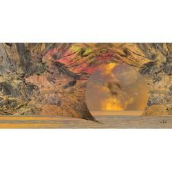 Nous sommes des bulles au-dessus d'un océan d'absurdité © Max Parisot du Lyaumont