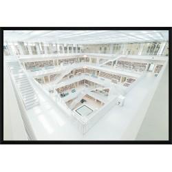 Stadtbibliothek am Mailänder Platz - Stuttgart (Allemagne)