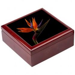 Boîte à bijoux Fleur africaine