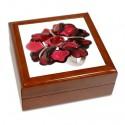 Boîte à bijoux Bague rouge