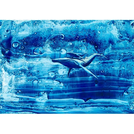 Baleine et baleineau - Personnalité n°6 © Eric Milochau