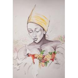 La femme aux fruits