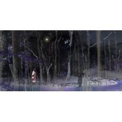 Personnage en quête de son ombre © Max Parisot du Lyaumont