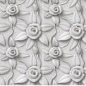 Carrelage sol et mur en grès cérame émaillé Motif 3D Roses