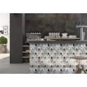 Carrelage sol et mur en grès cérame émaillé Motif Original Comb