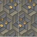 Carrelage sol et mur en grès cérame motif 3D