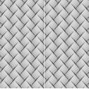 Carrelage sol et mur en grès cérame émaillé Motif 3D Wave
