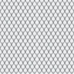 Carrelage sol et mur en grès cérame émaillé Motif 3D Black and white