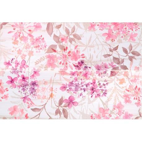 Carrelage mural en faïence déco Ambiance florale