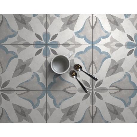 Carrelage sol et mur en grès cérame émaillé motif Urban 1
