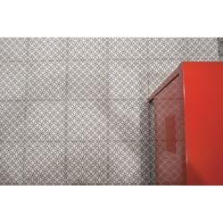 Carrelage sol et mur en grès cérame émaillé motif Retro 1