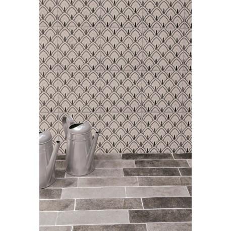 Carrelage sol et mur en grès cérame émaillé motif Retro 3