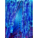 Blue Flatiron Building n°6