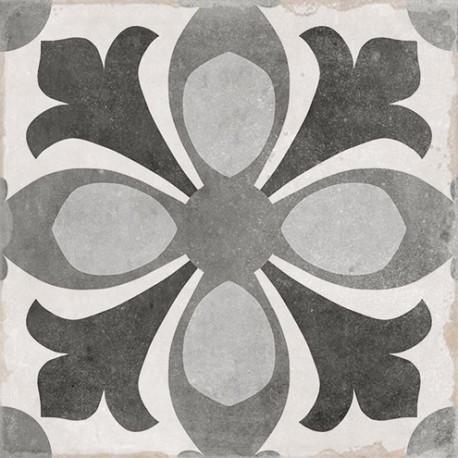 Carrelage sol et mur en grès cérame émaillé motif Epoque 2