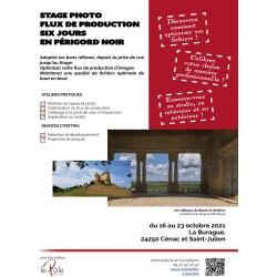 Stage Photo Flux de production images (Acompte)